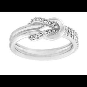 Swarovski Voile Knot ring